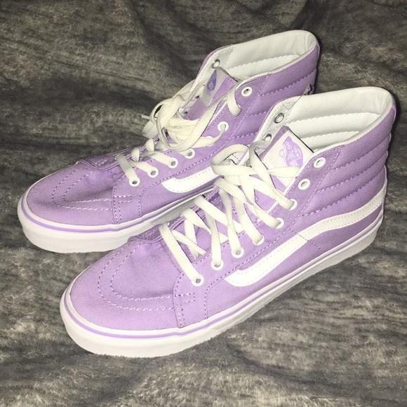 6496fdda2a17c1 Vans Skate Hi Slim. Pastel pack. Sea Fog Purple. M 5a8721313b1608a6767dabd1
